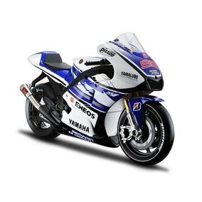Miniatura Colecionável Moto Yamaha Racing 2012 1:10