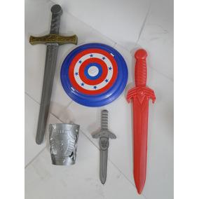 Bracelete Espada Cinza Espada Vermelha Adaga Sem O Escudo