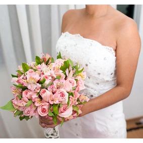 Vestido De Noiva - Ajustável Tamanho 36 A 38