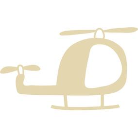 Carrinhos Aviões Foguete Mdf Silhueta 35x23cm - 05 Und