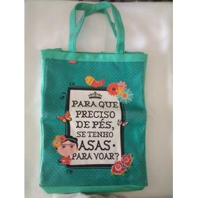 Bolsa Sacola Carpe Diem Frida Kahlo