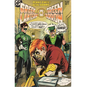 Green Lantern & Green Arrow 05 - Dc 5 - Bonellihq Cx369 C18