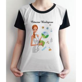 70df08f21 Camiseta Feminina Ciencias Biologicas - Camisetas e Blusas no ...