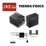 Adaptador Convertidor Audio Digital To Analog Rca Jwk Vision