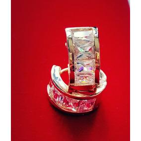 edfef482b8cd Arracadas Con Corazon De Cristales - Joyas y Relojes en Mercado ...