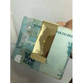 Clip Prendedor De Cédulas Em Ouro 18k750