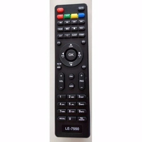 Controle Remoto Receptor Tv Digital Cce Lg Cine Box 7550