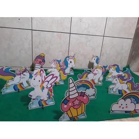 Unicornio Encantado Kit Com 10 Display De 20 Cm