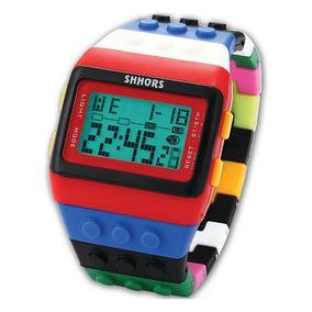 Reloj Bloques Lego Digital Adulto Y Niño + Precio De Mayoreo 33c2566ec529
