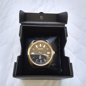 Relógio Diesel Masculino Aço E Couro - Novo E Original