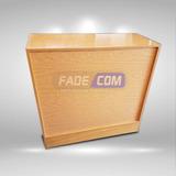 Mostrador Ciego, Para Comercio, Fadecom
