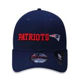 Boné New Era 940 New England Patriots Azul Marinho