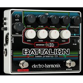 Electro-harmonix Battalion Bass Preamp Di Made In Usa