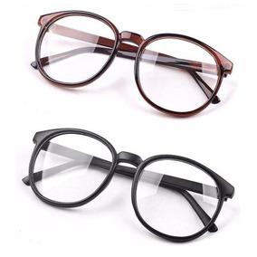 091ee37170abd Feno Redondo E Quadrado - Óculos Marrom claro no Mercado Livre Brasil