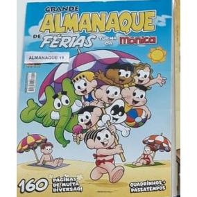 05 Almanaques Turma Da Mônica / Ler, Colorir, Passatempo