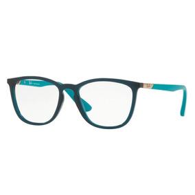 Óculos De Grau Ray Ban Verde Original Rb7136l 5744 Tam. 52 0f9d38c38c