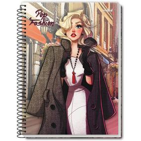 Caderno Escolar Pop Fashion - Cadernos no Mercado Livre Brasil a04e72cf7b807