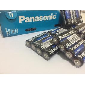 Pilha Panasonic Pequena Aa/ Tubo Com 52 Unidades