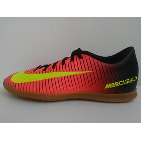 e73b1331dd Chuteira Nike Mercurial Vermelha E Branca Adultos Futsal - Chuteiras ...
