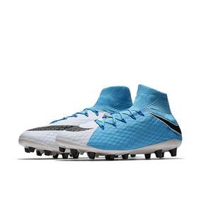 Botines Nike Hypervenom Celeste - Botines Nike en Mercado Libre ... 2e89d0607a