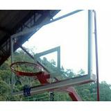 Tablero Basket Ball En Vidrio Con Aros Flexibles