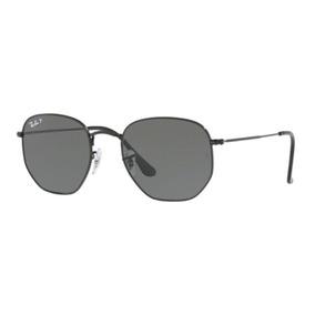 Óculos Ray Ban Hexagonal Lente Preto - Óculos no Mercado Livre Brasil 92490de6d2