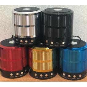 Cornetas Inalambricas Bluetooth Radio Fm Micro Sd Portatil