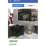 Cámara Leica X2 Con Accesorios