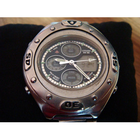 Reloj Citizen Promaster Ufo. W.r. 100. All Stainless Steel.