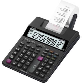 Calculadora Com Bobina Casio Media Hr-100rc-bk Bivolt
