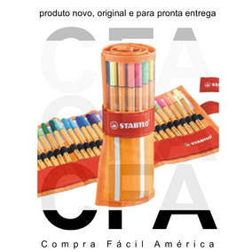 Stabilo Point 88 Rollerset 30x Canetas Fineliner Cores Dif.