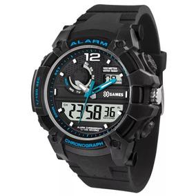 4d6632fb28c Relogio X Games Preto E Azul - Relógios no Mercado Livre Brasil