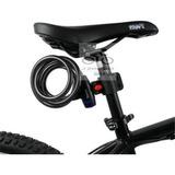 Cadeado Trava P/ Bicicleta Com Suporte De Quadro Ou Canote