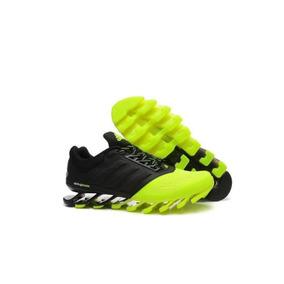 465b8d1009e Adidas Springblade Verde Limão Masculino - Tênis no Mercado Livre Brasil