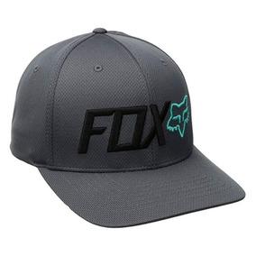 Gorra Fox Trudri Trenches Flexfit Color Gris Negro Talla S m 50b4acb1017