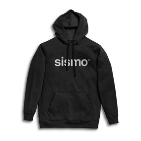 Buzo Sismo Hood Negro