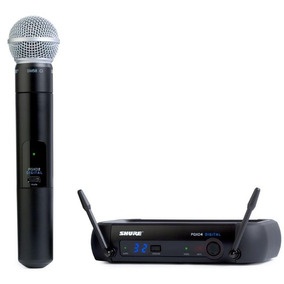 Microfono Pgxd24/sm58-x8 Sistema Shure