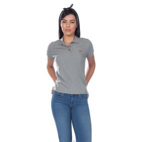 Camisa Polo Levis Feminina Classic Batwing Woman Cinza 3b0c1b97985