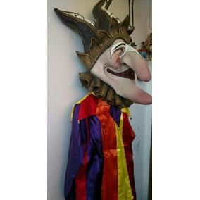 Traje De Arlequin Para Carnaval O Fiestas