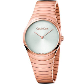 Reloj Calvin Klein Whirl Rosa Cara Plata K8a23646 E-watch