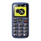 Celular Dl Yc120azu Dual Chip Tecla Sos Conexão Antena Rural