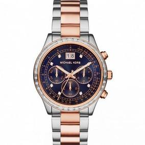 Relógio Michael Kors Cronógrafo Dourado Mk 5556 Novo - Relógios De ... 1d9805fb27