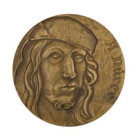 Medalha Albrecht Durer Artista Renascimento Pintor