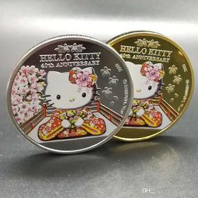 Moeda Cook 2014 - 40 Anos De Hello Kitty - Frete 2 Opções