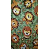 6d57ae366f7c63 Tecido Com Estampa De Leao no Mercado Livre Brasil