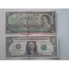 Cédulas 1 Dolar Canadense 1967 Americano 2003