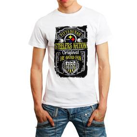 Camiseta Steelers Camisa Futebol Americano Nfl Branca Barato ba3ab156e70cf