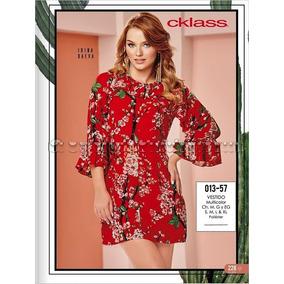 Vestido Cklass Multicolor 013-57. Outlet/saldos Mchn