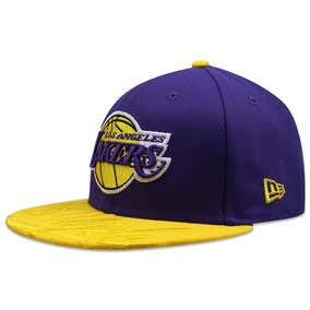Gorras Originales Planas Lakers en Mercado Libre México b772bed02d0