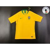 Camiseta Selección Brasil (rusia 2018) - Versión Jugador